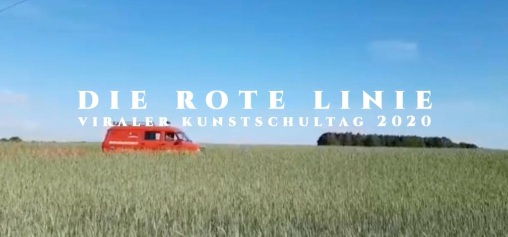 Rote Linien Kunstprojekt